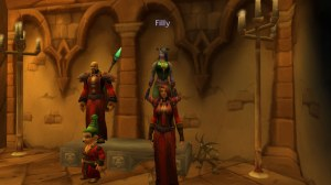 Three Warlocks and a Shaman